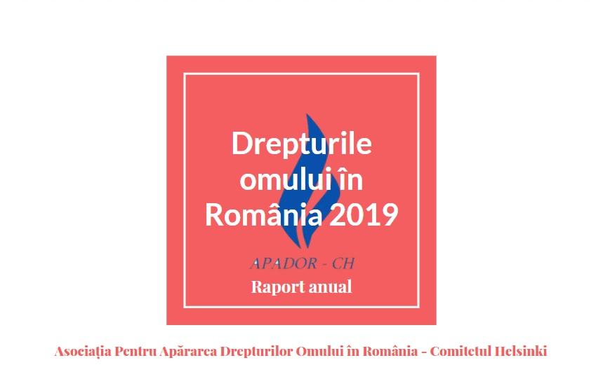Raportul de activitate APADOR-CH 2019
